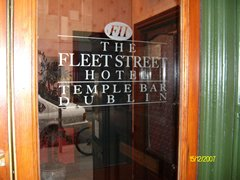 Fleet Street Hotel in Dublin